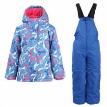 Купить комплект куртка/полукомбинезон salve, цвет: синий ( id 10675658 )