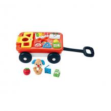 Купить игрушка интерактивная fisher-price музыкальная тележка ученого щенка ( id 12368952 )