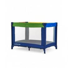 Купить кроватка-манеж классическая, расцветка: цветные блоки mothercare 9060621