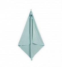 Купить полотенце с уголком jollein 100 х 100 см, цвет: зеленый ( id 10112547 )