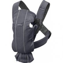 Купить рюкзак-переноска baby bjorn mini 3d mesh, антрацит babybjorn 997006058