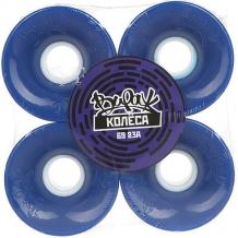 Купить колеса для скейтборда для лонгборда вираж blue 83a 69 mm синий