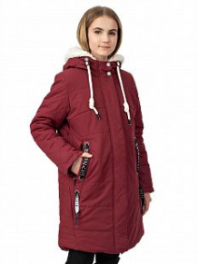 Купить пальто alpex, цвет: бордовый ( id 10998644 )
