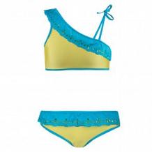 Купить купальник раздельный лиф/плавки cornette, цвет: желтый ( id 10509065 )