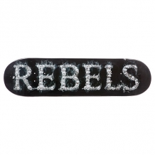 Купить дека для скейтборда для скейтборда rebels logo skulls 32 x 8.25 (21 см) черный 1082139