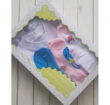 Купить айас набор для девочки (2 футболки + колготки 3 пары) 81-01