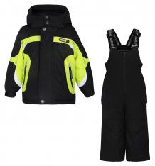 Купить комплект куртка/полукомбинезон gusti boutique, цвет: желтый/черный ( id 6490963 )
