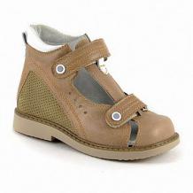 Купить сандалии скороход, цвет: коричневый ( id 12541546 )