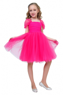 Купить платье с брошью ladetto ( размер: 152 38 ), 10326481