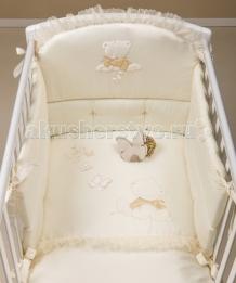Купить комплект в кроватку picci sissi (3 предмета) с балдахином i1552-09