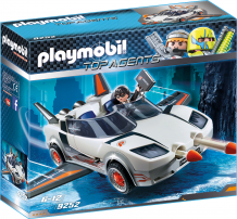 Купить конструктор playmobil агент р. с гонщиком 9252pm