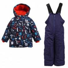 Купить комплект куртка/полукомбинезон salve, цвет: синий ( id 10675739 )