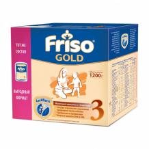 Купить friso заменитель детское молочко 3 gold с 12 мес. 1200 г 8716200720618