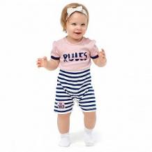 Купить песочник lucky child скажи да, цвет: розовый/синий ( id 12647014 )