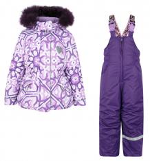 Купить комплект куртка/полукомбинезон stella майолика, цвет: фиолетовый м-341/1