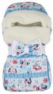 Купить babyglory конверт snowball 40 х 80 см, цвет: голубой ( id 9873597 )