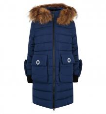 Купить пальто fobs, цвет: синий ( id 9816225 )