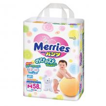 Трусики-подгузники Merries M 6-10 кг, 58 шт. ( ID 3295613 )