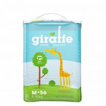 Купить трусики-подгузники lovular giraffe размер m (56 шт) lovular 996856920