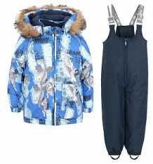 Купить комплект куртка/брюки huppa avery, цвет: синий ( id 6169957 )