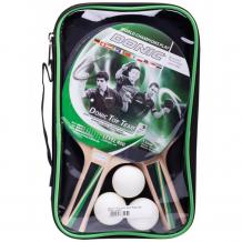 Купить donic-schildkrit набор top team 400 (2 ракетки + 3 мяча) ут-00015349