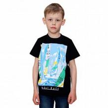 Купить футболка счастливая малинка, цвет: черный ( id 12601012 )