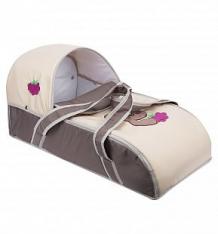 Купить люлька-переноска для ребенка slaro мишка, цвет: бежевый/коричневый ( id 4526227 )