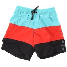 Купить шорты пляжные детские globe dana split pool aqua голубой,красный,черный ( id 1163077 )