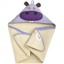 Купить полотенце с капюшоном 3 sprouts бегемот ( id 5098199 )
