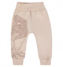 Купить брюки linea di sette дубок, цвет: бежевый 40201