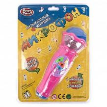 Купить электронный микрофон shantou gepai «поем вместе» песни+алфавит, розовый 20 см ( id 12286540 )