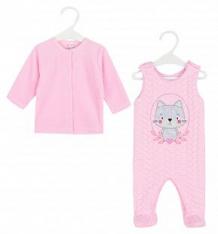 Купить комплект джемпер/полукомбинезон koala psotka, цвет: розовый ( id 8416597 )