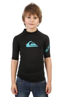 Гидрофутболка детская Quiksilver All Time Boy True Black черный ( ID 1164840 )