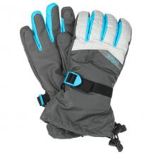 Купить перчатки сноубордические женские dakine capri glove silver houndstooth серый,голубой ( id 1192626 )