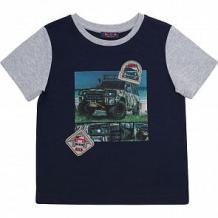 Купить футболка chinzari страны мира, цвет: синий/серый ( id 11642182 )