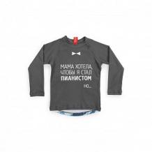 Купить футболка happy baby, цвет: серый ( id 10661573 )
