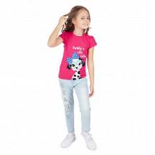Купить футболка me&we, цвет: розовый ( id 11950240 )