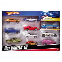 Купить набор металлических машинок hot wheels, 10 штук 3620617