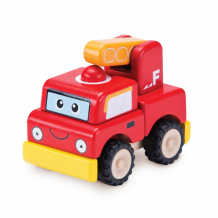 Купить конструктор wonderworld пожарная машина miniworld ww-4066 ww-4066
