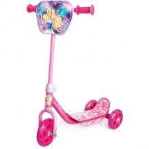 Купить трехколесный самокат next barbie, розовый ( id 8264176 )