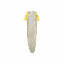 Happy Baby Пеленка-боди Дикий кот, цвет: желтый/серый ( ID 10647107 )