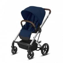 Купить коляска прогулочная cybex balios s lux slv navy blue с дождевиком, синий cybex 997172623
