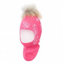 Купить шапка-шлем stella's kids, цвет: розовый ( id 11439412 )