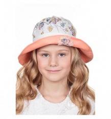 Купить шляпа levelpro kids, цвет: белый/оранжевый ( id 9115105 )
