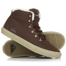 Купить кеды кроссовки зимние детские quiksilver jax brown коричневый ( id 1181669 )
