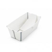 Купить набор stokke flexi: ванночка складная с подставкой и термочувствительной пробкой stokke 997048614