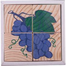 """Купить кубики """"фрукты-ягоды"""", 4 штуки, томик ( id 3650279 )"""