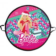 Купить ледянка, 52 см, круглая, barbie, 1toy ( id 5032825 )
