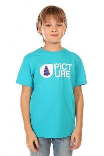 Футболка детская Picture Organic Basement Light Blue голубой ( ID 1132442 )
