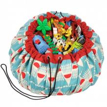 Купить play&go 2 в 1: мешок для хранения игрушек и игровой коврик бадминтон 79970